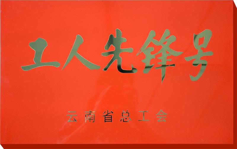 云南省工人先锋号